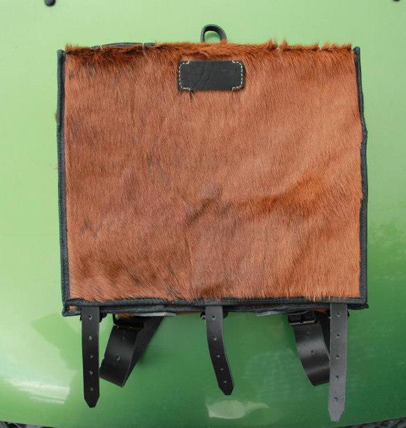 Ранец французский пехотный ранец обр.1845 г. Тип 1