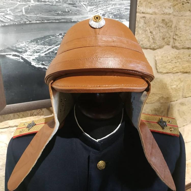 Шлем воздухоплавательных частей РИА